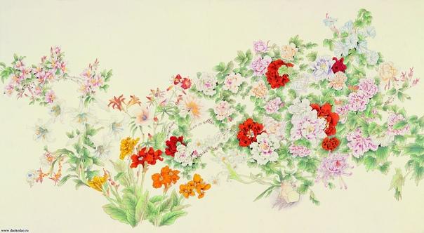 О СТРОКАХ ПУСТЬ РАСЦВЕТАЮТ СТО ЦВЕТОВ.. Пусть расцветают сто цветов,Пусть соперничают сто школ. из китайской классической поэзии. Попытки дать расцвести ста цветам и открыть соперничество