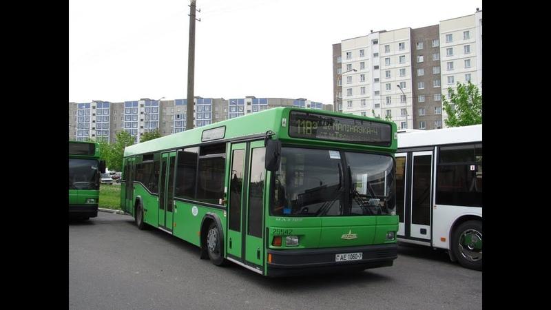 Автобус Минска МАЗ-103.065,гос.№ АЕ 1060-7, марш.18 (28.06.2019)
