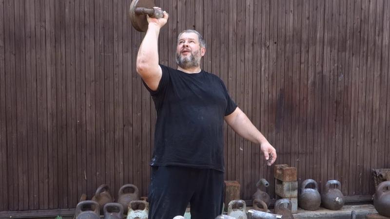 УПРАЖНЕНИЯ НА ХВАТ С ГИРЯМИ SOME EXERCISES WITH KETTLEBELLS FOR GRIP STRENGTH DEVELOPMENT