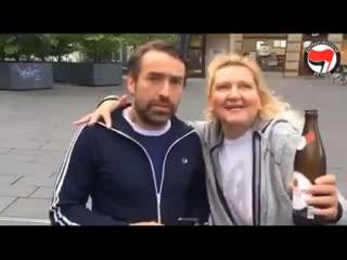 Sven vs Antifa Halle/Saale