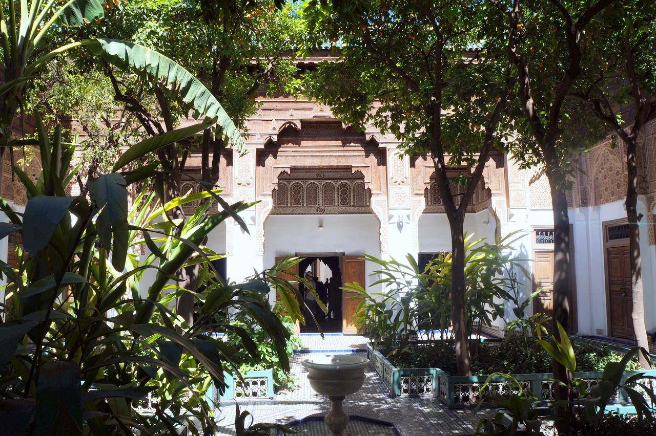 Роскошь по-мароккански - дворец Бахия в Марракеше