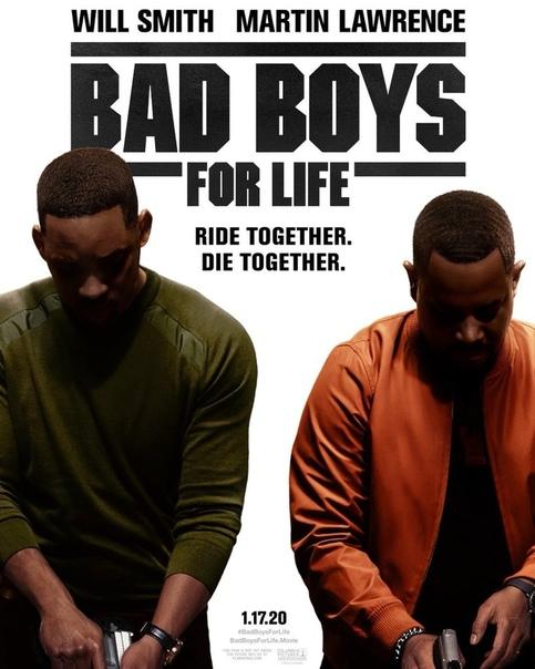 Уилл Смит и Мартин Лоуренс на новом постере триквела «Плохих парней»