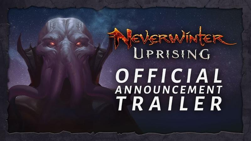 Neverwinter: Uprising Official Announce Trailer