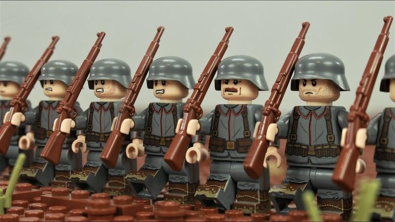 Lego WW1 - 2nd Battle of Villers Bretonneux stop motion