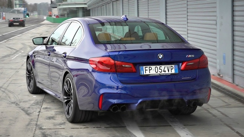 720HP BMW M5 F90 OnBoard @ Monza Circuit! - Always Sideways LOUD Exhaust Sounds!