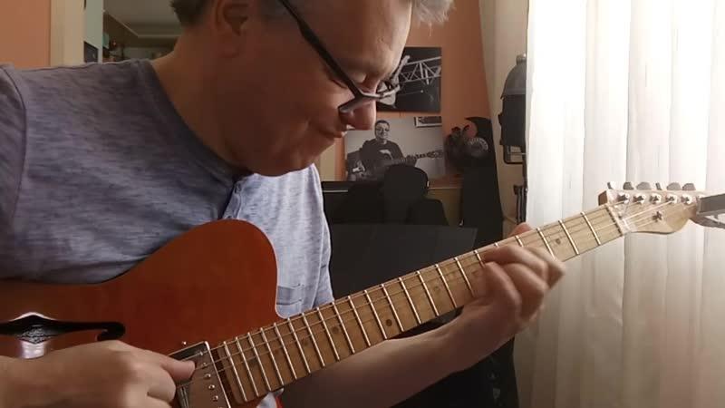 Из рубрики Разминки немного спонтанного аккомпанемента на гармонию Jazz Blues
