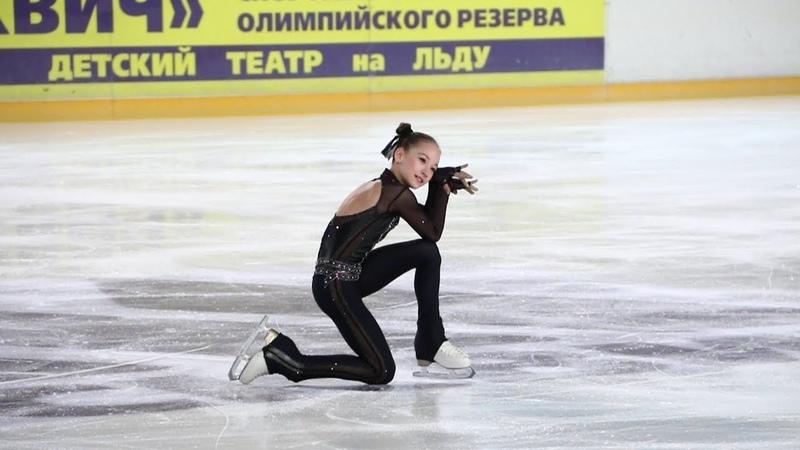 » Софья Акатьева, ПП (Sofia Akatieva, FS), старшие, Первенство Москвы младшего возраста 2019