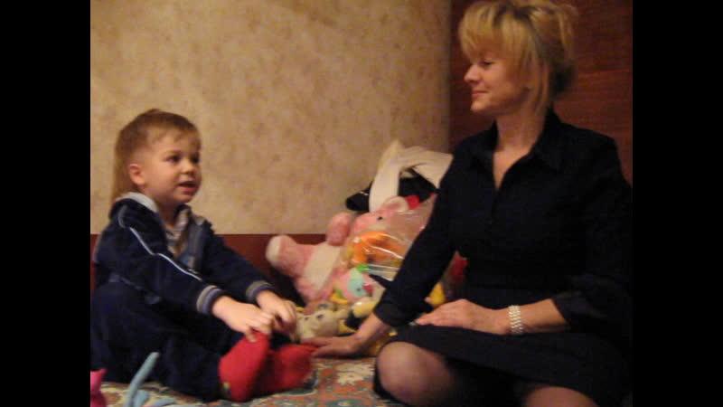 Денисочке 3 года Гвардейка (после утренника)ч.2