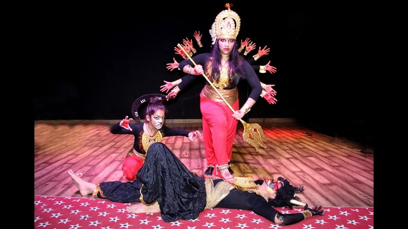 Dance Performance Evoking Maa Durga