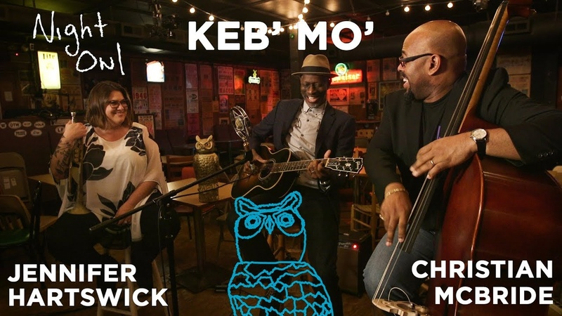 Keb' Mo', Jennifer Hartswick Christian McBride, France Night Owl | NPR Music