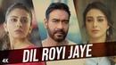 Клип Dil Royi Jaye из фильма De De Pyaar De - Аджай Девгн, Табу, Ракул Прит Сингх
