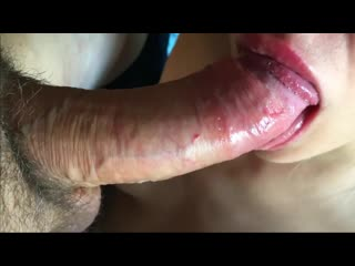 Oral creampie compilation throbbing mouth swallow
