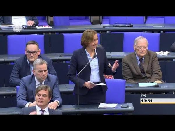 Beatrix von Storch (AfD) stellt Frage zum Völkermord an den christlichen Armeniern. 03.04.2019