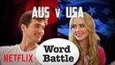 The Society Cast: AUS vs. USA Word Battle   Netflix