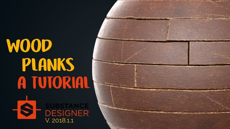 Wood Planks | Beginner Substance Designer Tutorial