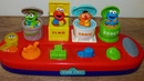 Sesame street singing pop up pals Cookie monster Elmo Oscar Ernie toy for babies and toddlers