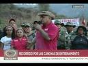 Diosdado Cabello en ejercicios de entrenamiento cívico-militar en Caricuao