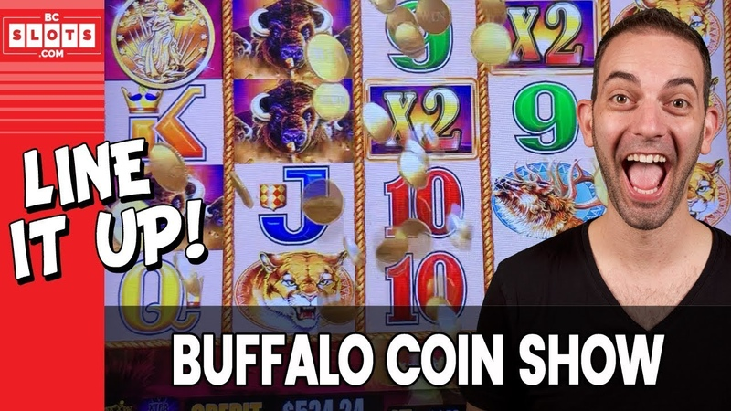 🐃 Buffalo COIN SHOW - Line It UP 💰 $1000 @ GSR Reno ✪ BCSlots (S. 8 • Ep. 5) AD