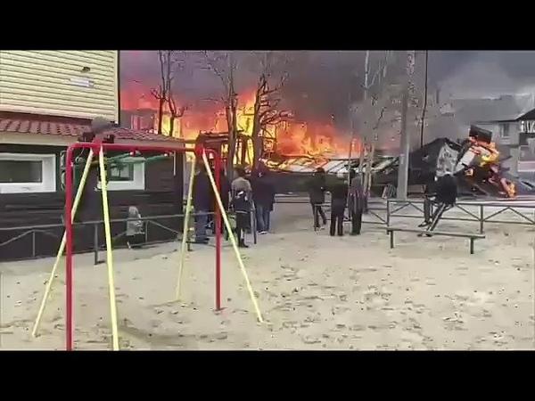 Пожар в Ноябрьске и невозмутимый мальчик