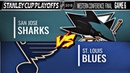 21.05.2019 Сан-Хосе Шаркс - Сент-Луис Блюз Игра 6 | San Jose Sharks vs St. Louis Blues | Game 6
