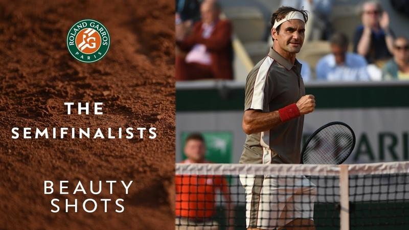 Beauty Shots 11 - The Semi-Finalists | Roland-Garros 2019