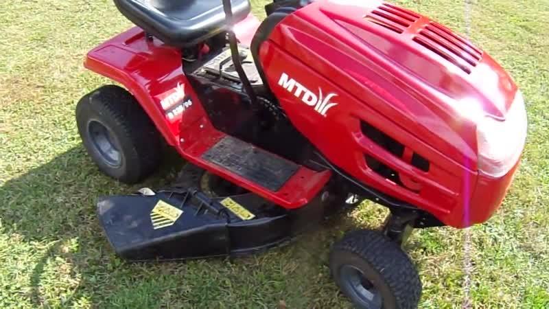 Садовой трактор MTD
