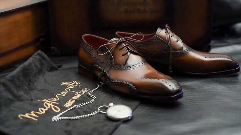 Handcrafting Premium Men's Shoes Maglieriapelle