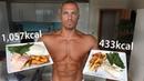 Fat Loss vs Bulking Meal Comparisons (Full Meal Prep Walkthrough)