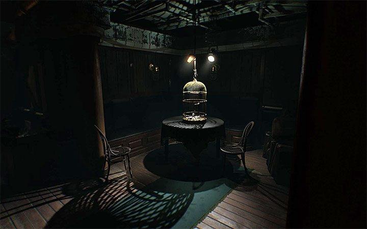 Layers of Fear 2 головоломка в комнате с птичьей клеткой