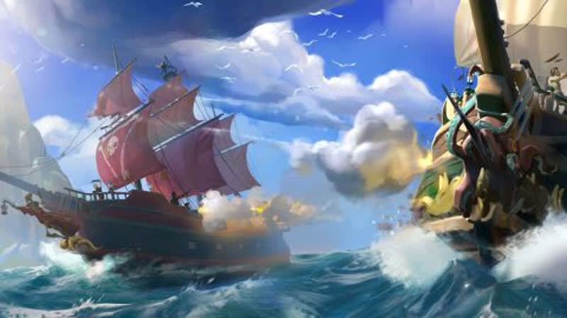 Sea of Thieves Битва на арене