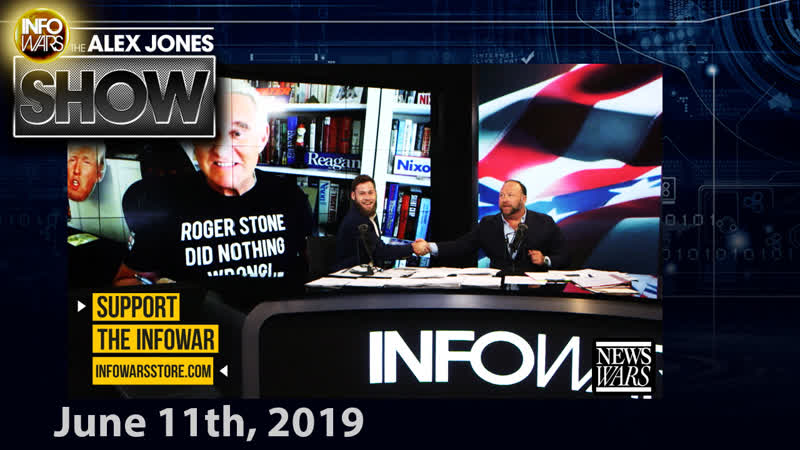 Full Show – EXCLUSIVE: Roger Stone Breaks Silence, Congo Invades Texas, Leftists Attack Female Reporter – 06/11/2019