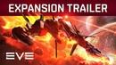EVE Online — кинематографичный трейлер дополнения «Вторжение»