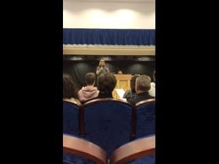 Нина Елишева репетиция
