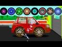 Мультики про машинки для самых маленьких детей - Мойка машин