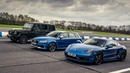Mercedes-AMG G63 vs Porsche Cayman GTS vs Audi RS3 Top Gear