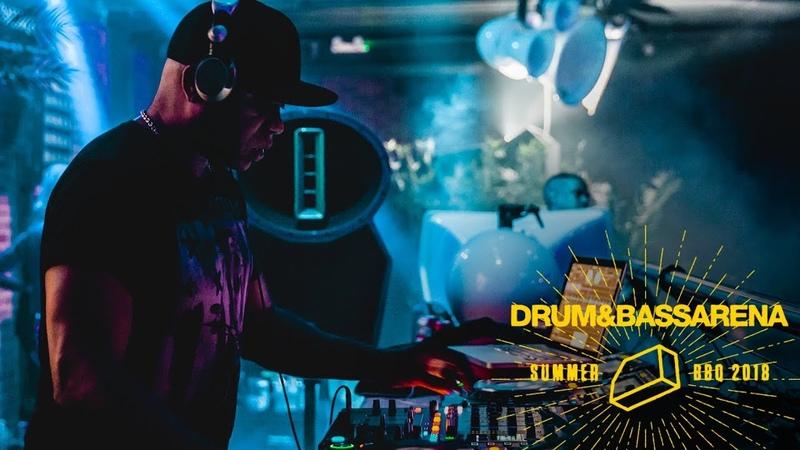 Grooverider ft. MC AD - DrumBassArena Summer BBQ 2018