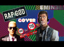 Eminem Rap God fast part cover Trying 110% Speed