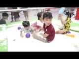 BOZIN Chơi bông tuyết tại khu vui chơi(BOZIN Play snowflakes at the play area)
