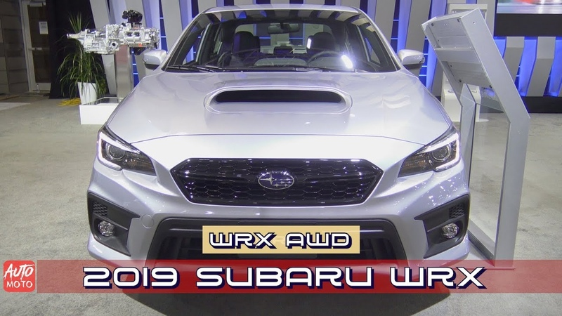 2019 Subaru WRX AWD Exterior And Interior 2019 Quebec Auto Show