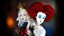 В ШОКЕ от КУКЛЫ 😱 Красная и Белая королева Алиса в Зазеркалье