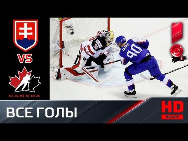 13.05.2019 Словакия - Канада - 56. Все голы. ЧМ-2019