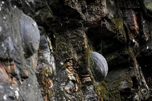 Чудо-Скала, откладывающая таинственные яйца. В китайской провинции Гуйчжоу находится гора, откладывающая яйца. Загадочная скала Чан Да Я откладывает каменные яйца идеально круглой и овальной