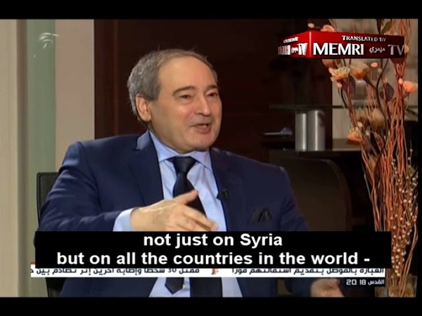 Syrian Deputy FM Syria Has the Right to Employ Armed Struggle to Liberate Golan Heights