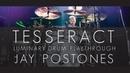 TESSERACT LUMINARY Jay Postones LIVE drum playthrough