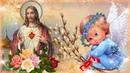 С ВЕРБНЫМ ВОСКРЕСЕНЬЕМ! Красивое поздравление! Открытка на Вербное воскресение!