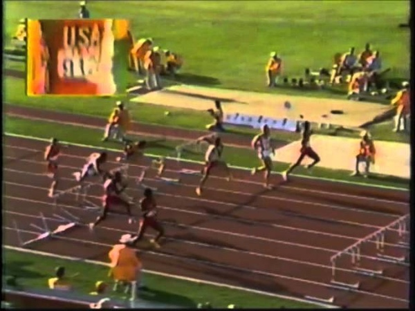 1984 Olympic Games Track Field - Men's 110 Meter Hurdles