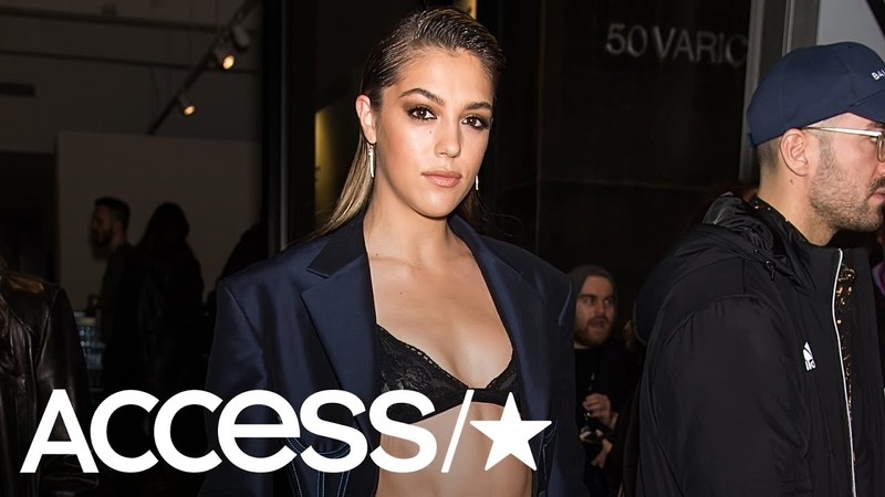 Sistine Stallone Bares Her Bod At NYFW | Access