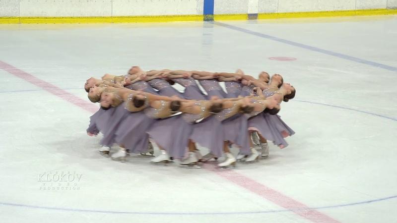 Команда САНРАЙЗ Санкт- Петербург 2018. Синхронное фигурное катание на коньках.