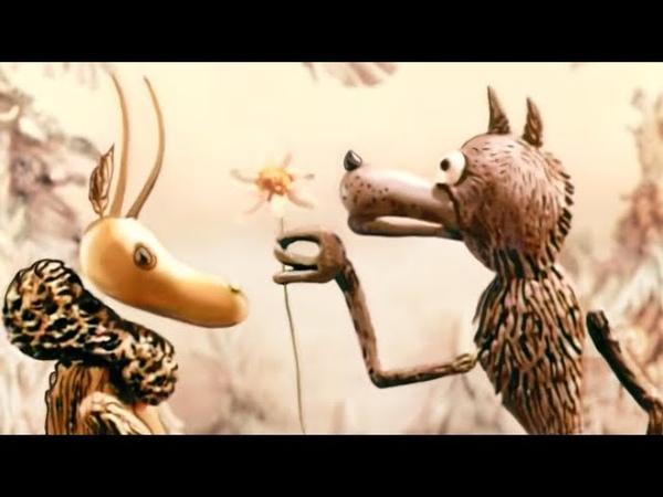 Волк и семеро козлят на новый лад 1975 Кукольный советский мультик Золотая коллекция