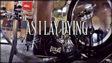 PEDAL DUPLO CAM AS I LAY DYING - MY OWN GRAVE DRUM COVER PEDRO TINELLO